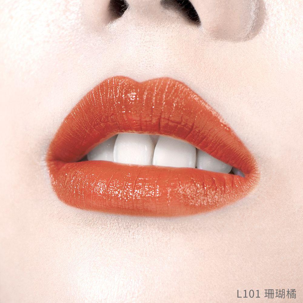 CC水亮絲緞豐唇筆-L101 珊瑚橘