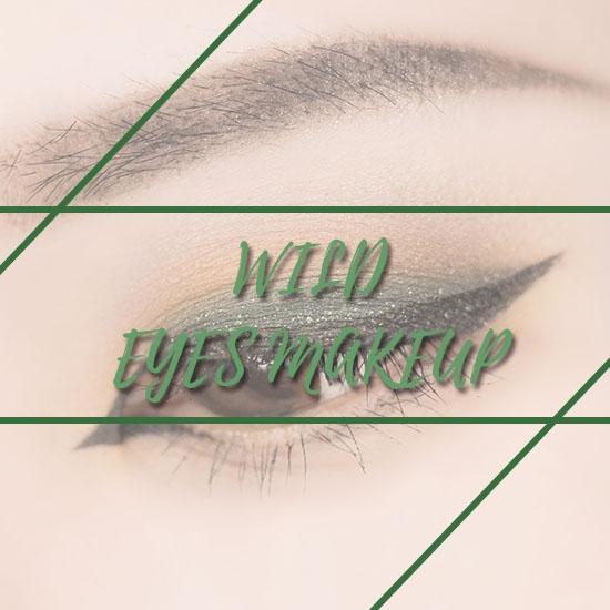 歐美眼妝新手必看! 如何漂亮乾淨地暈染重色系眼妝,1分鐘讓你輕鬆駕馭喔!