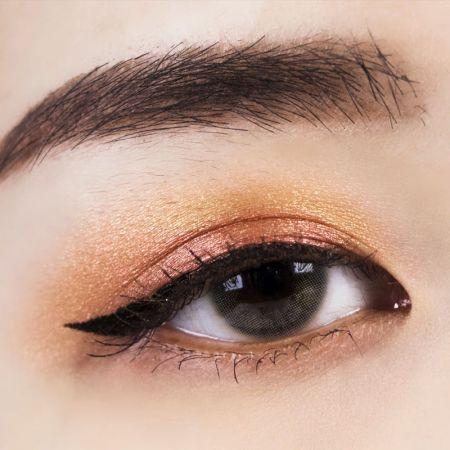 NH 金屬光微醺眼唇釉 雪松紅×芥末黃