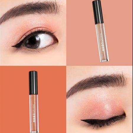 NH 金屬光微醺眼唇釉 榛果褐×琥珀橙