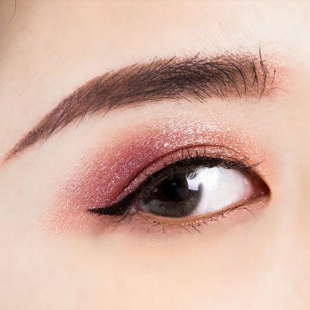NH 金屬光微醺眼唇釉 榛果褐×栗子紅