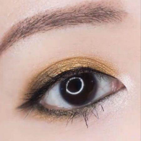 NH 金屬光微醺眼唇釉 芥末黃