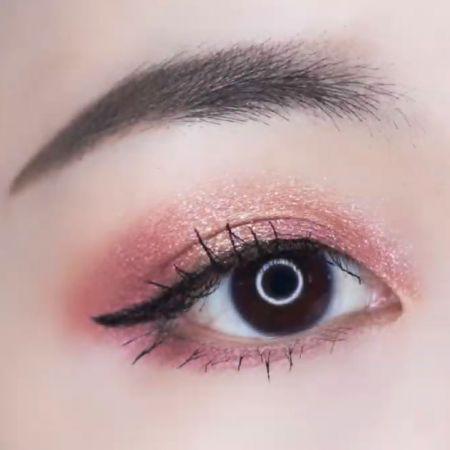NH 金屬光微醺眼唇釉 雪松紅